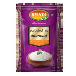 Rishta Parboiled Rice Diamond
