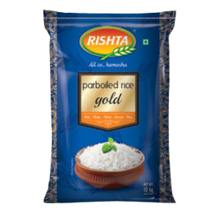 rishta Parboiled Rice Gold